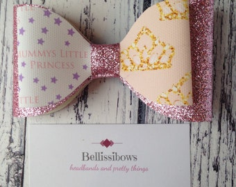 Mummy's little princess bow