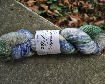 Spark Sock Yarn - Horned Serpent Colorway - Inspired by Harry Potter