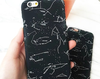 Constellation Case for iPhone 5 / 5S / SE 6 / 6S / 6+ / 7