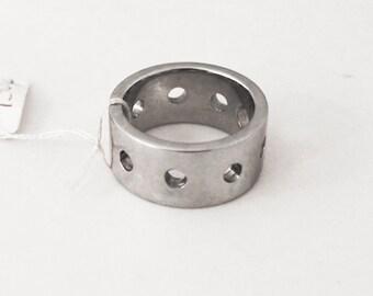 Steel man ring