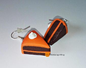 Fimo Earrings ' cupcake '