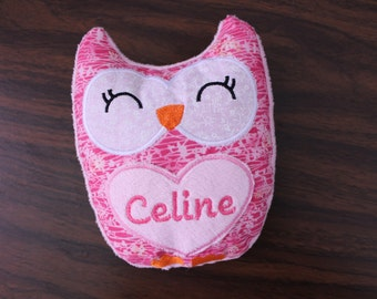 heat pack owl, rice pad, get well gift, get well soon,heating,cooling pad,unique gift,comfort gift, heat therapy,natural heat pad, cold pack