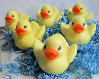 Handcrafted Soap Rubber Duckie Soap