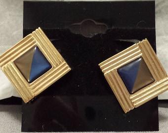 AVON Blue Nile clip on earrings