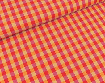 Westfalen fabric circus colorful checkered purple-pink coloured (18.90 EUR / meter)