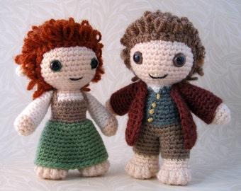 Halfling - Fantasy Amigurumi Pattern PDF - Crochet Pattern