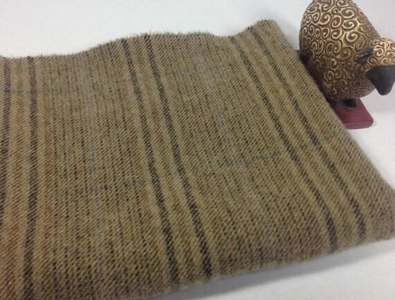 Fat 1/4 yard, Phantom Trail, Mill Dyed Wool Fabric for Rug Hooking and Applique, J700, Mushroom, Khaki Drab, Tree Bark, Forest Path