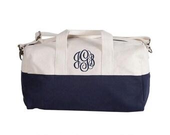 Duffle Bag - Small Navy Duffle