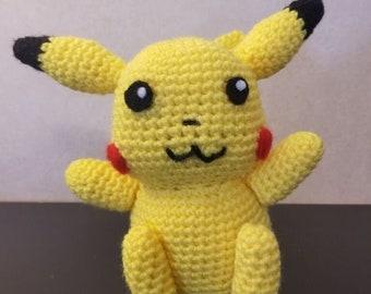 Pikachu Plushie | Crochet Amigurumi