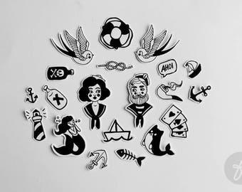 Hello Sailor! | stickers