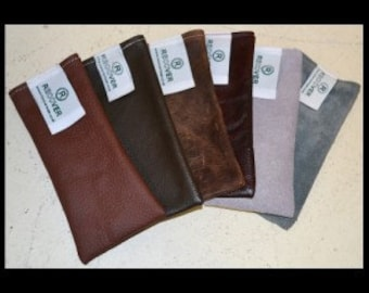 Leather / Suede Glasses / Spectacles Case