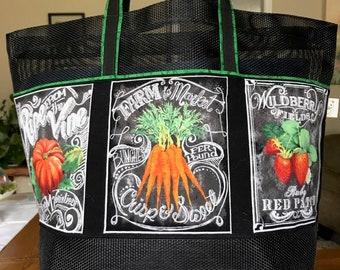 Re-Usable Market/Shopping Bag Tote