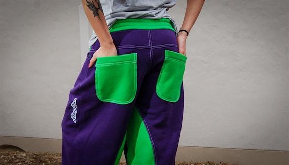 Green Dance Pants Cool Unisex Purple Sweatpants Pants Stylish Pants amp; Baggy Sweatpants Comfortable Cozy q0npBHvp5x