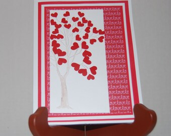 Love Tree Valentines Day Card