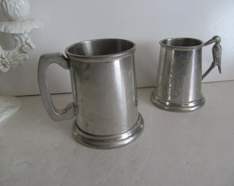 William Adams Sheffield England Pewter Cup Vintage Pewter stein Pewter Tankard Beer Stein Gift for Dad Fathers day Grandpa Gift Pewter Decor