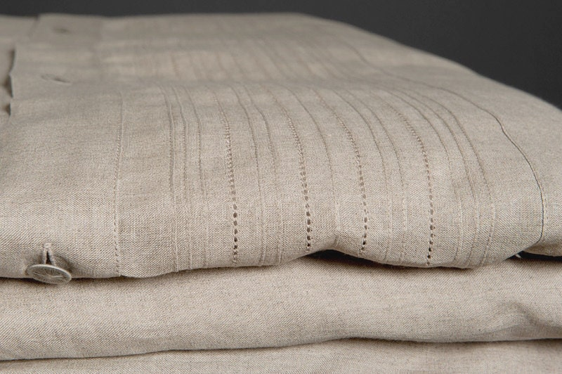 Pure linen duvet cover linen bedding natural fabric duvet : linen quilt king - Adamdwight.com