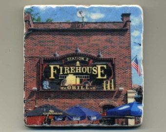Firehouse Grill in Evanston - Original Coaster