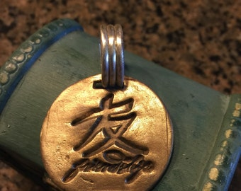 Chinese Friendship charm
