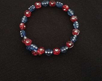 Plastic Beaded Bracelet