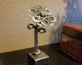 Beautiful Welded Steel Flower
