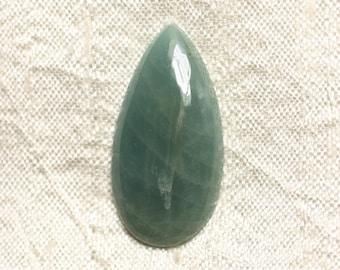 Cabochon stone - aquamarine drop 35x18mm N20 - 4558550082923