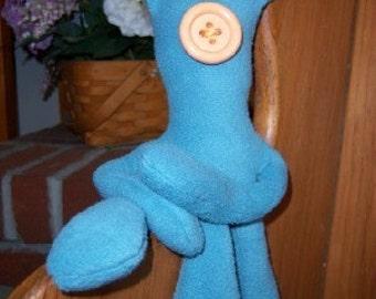 Coraline Squid Coraline Plush 10 inches Aqua Stuffed Coraline Squid Movie