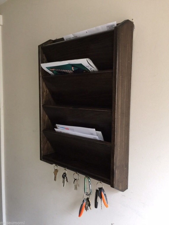 poche uu haut courrier lettre fabriqus la main bois cl rack support trieur mural jacobin ou. Black Bedroom Furniture Sets. Home Design Ideas