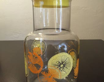 Pyrex Juice Carafe 3515 2 Quart Oranges and Lemons