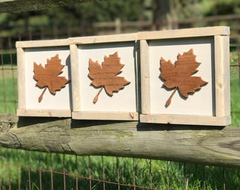 Rustic Fall Sign, Maple Leaf, Fall Wood Sign, Wood Sign, Fall Decor, Rustic Fall Decor, Fall Sign, Farmhouse Sign, Free Shipping