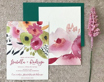 The Isabella Collection, Wedding Invitation Suite