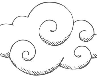 Cloud decal - cloud