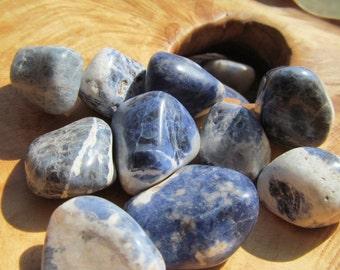 Sodalite Medium Tumbled Stone