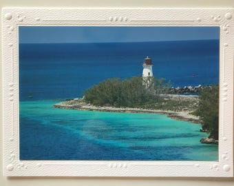 Nassau Lighthouse Photo Note Card, Blank Cards, Greeting Cards, Handmade Cards, Photo Note Cards, Card Set, Card Gift Set, Photo Cards