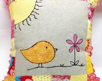Spring Birdie Pillow!!