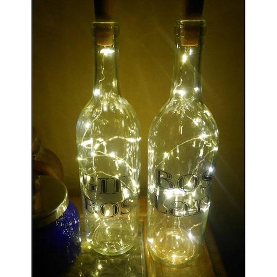 Boss Lady Girl Boss Lighted Wine Bottles Fairy Light Bottle