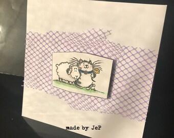 map mini friends ;-) CAT and sheep