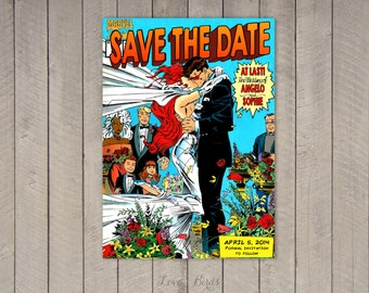 Emejing Comic Book Wedding Invitations Pictures - Styles & Ideas ...