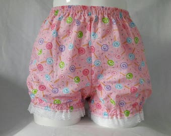 Pink or blue fairy kei mini bloomers candy cakes sweet lolita