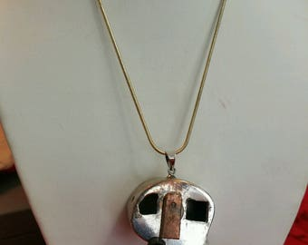 Sterling Silver Pendent Necklace Camper