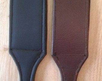 Latigo Leather Slapper paddle