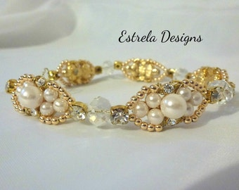 Vintage Themed -  Whimsical Bridal Wire Vine Crown