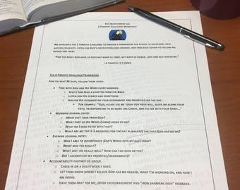 2 Timothy Challenge Worksheet