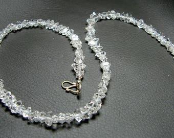 Herkimer Diamond Quartz, Diamond Quartz, Mineral, Crystal, Beads, Strand, Jewelry 5mm