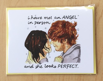 "Ed Sheeran ""Perfect"" Card"