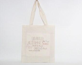 Autumn tote bag - 4 seasons