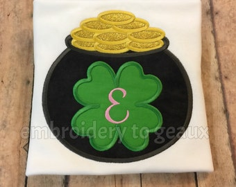 Kids St. Patrick's Day Shirt, Girl Psot of Gold T-shirt or Bodysuit, St.Patrick's Day Shirt for Girls, Toddler Girls St. Patrick's Day Shirt