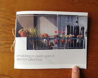 Tokyo Winter Gardens Pocket Photo Zine