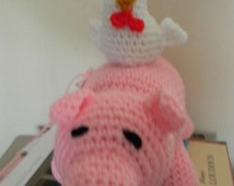 Piggyback (Chicken and Pig)