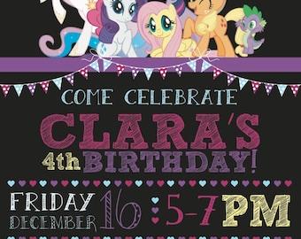 My Little Pony Invite