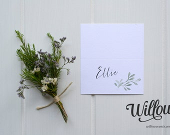 PLACE CARD // Olive Grove
